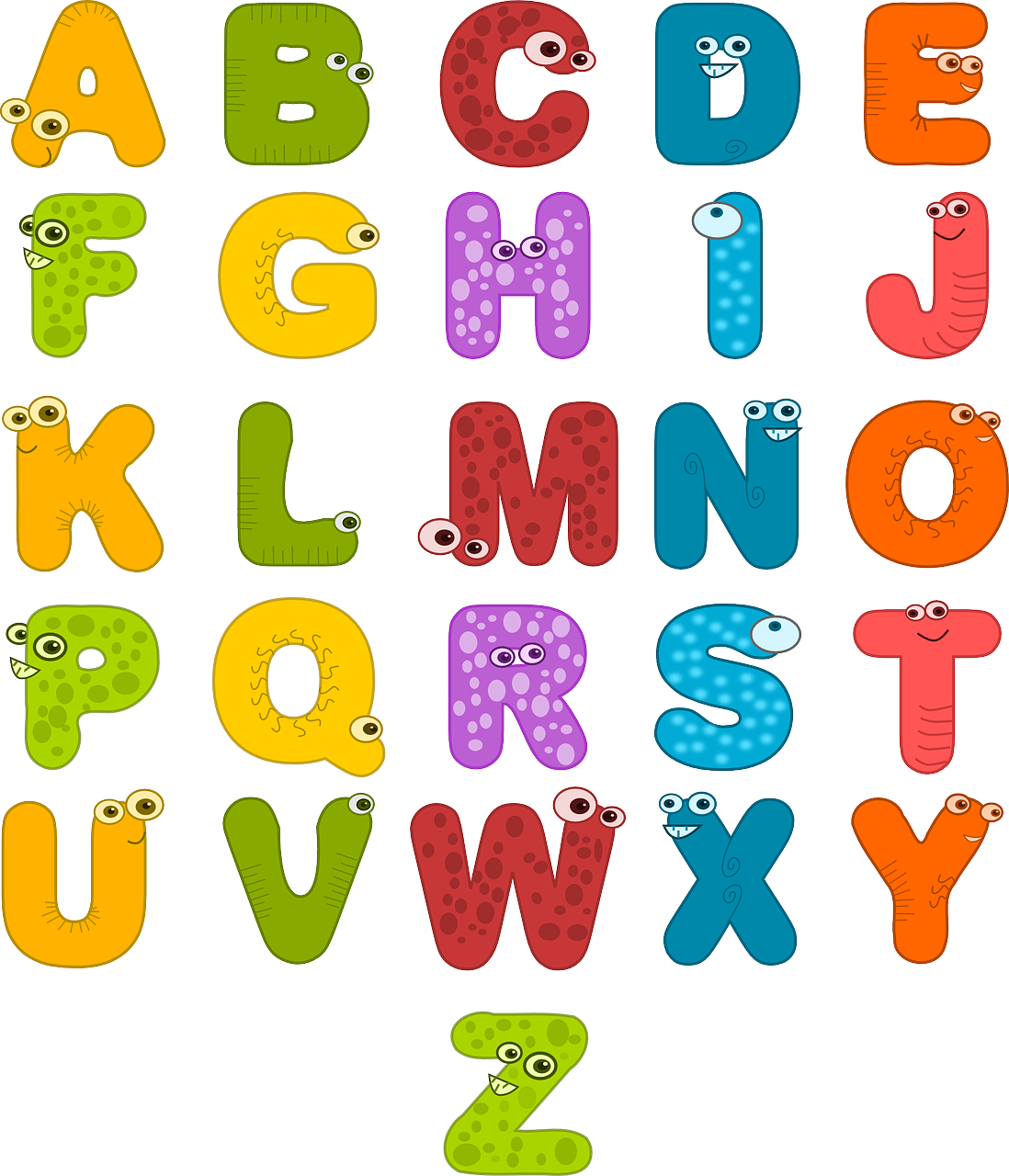 How Many Letter are in the alphabet - a to z alphabet